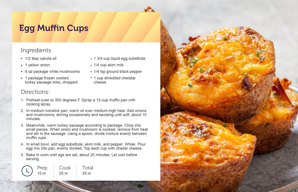Egg Muffin Cup Recipe