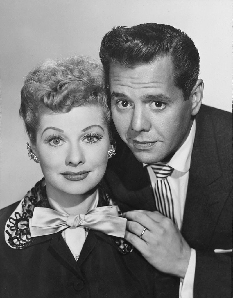 Lucille Ball and Desi Arnaz from I Love Lucy.